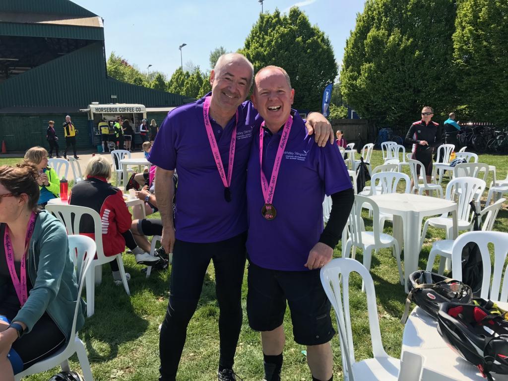 Stuart Haigh & Alan Morgan