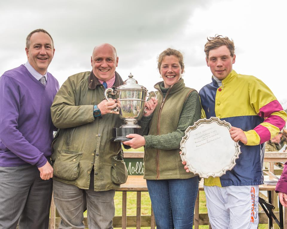 Whitley Stimpson sponsors Warwickshire Point to Point