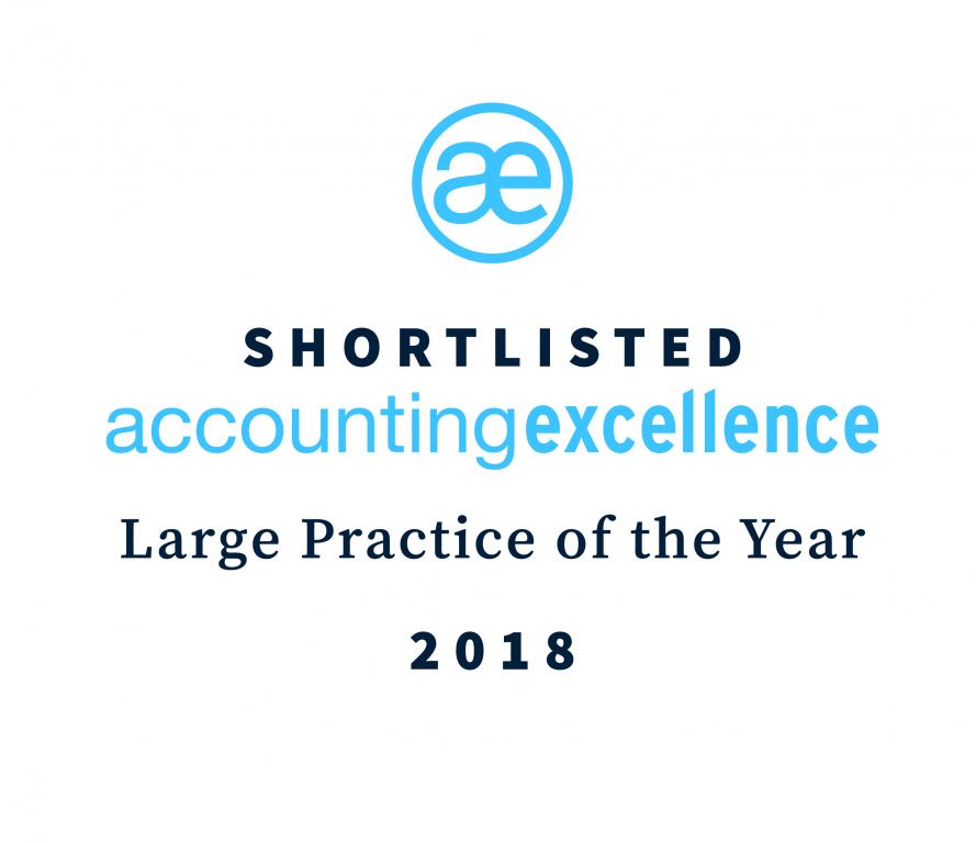 AccountingExcellence - Large Practice of the Year 2018