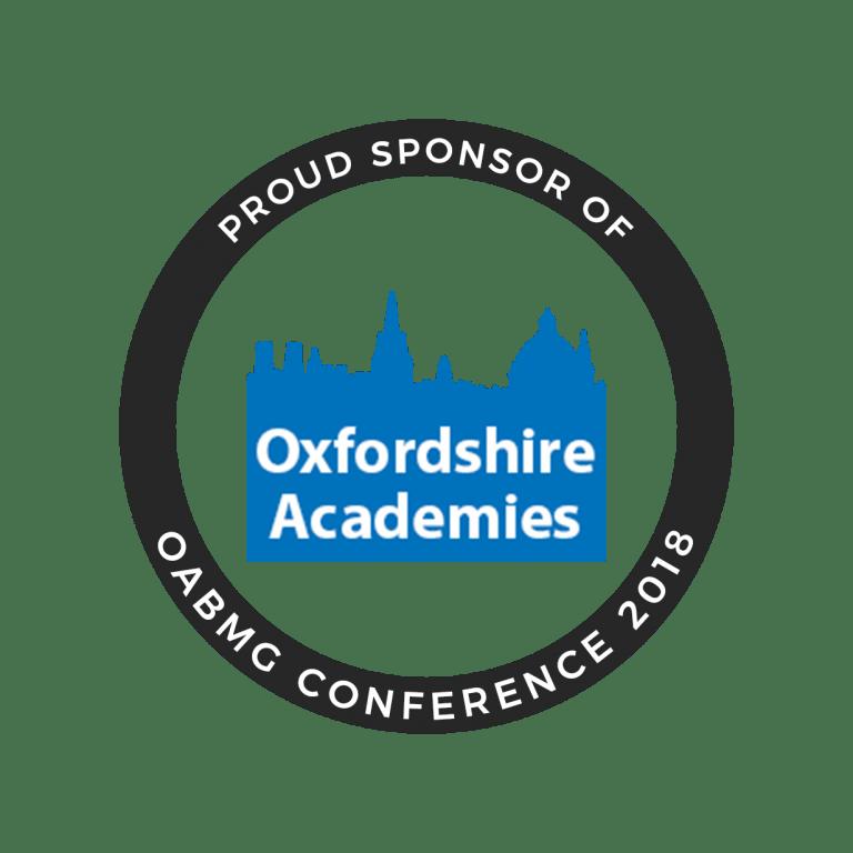 Oxfordshire Academies OABMG Conference Sponsor