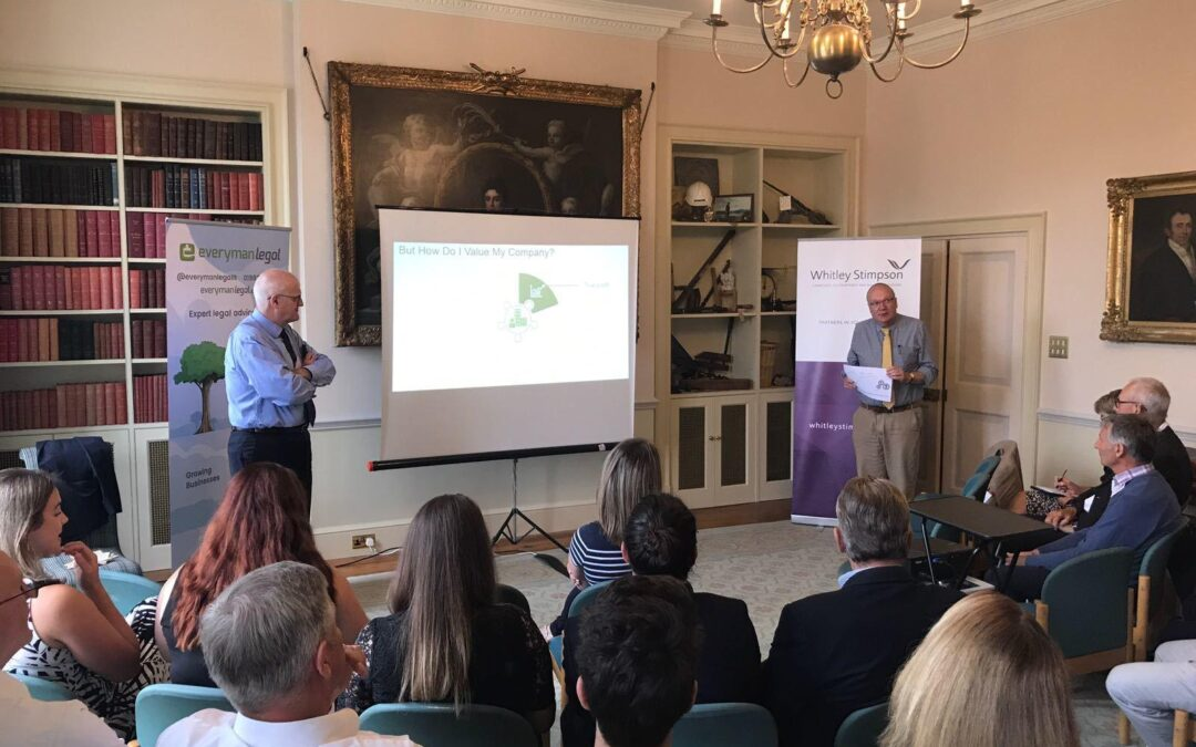 Whitley Stimpson hosts Business Succession Planning seminar in Witney