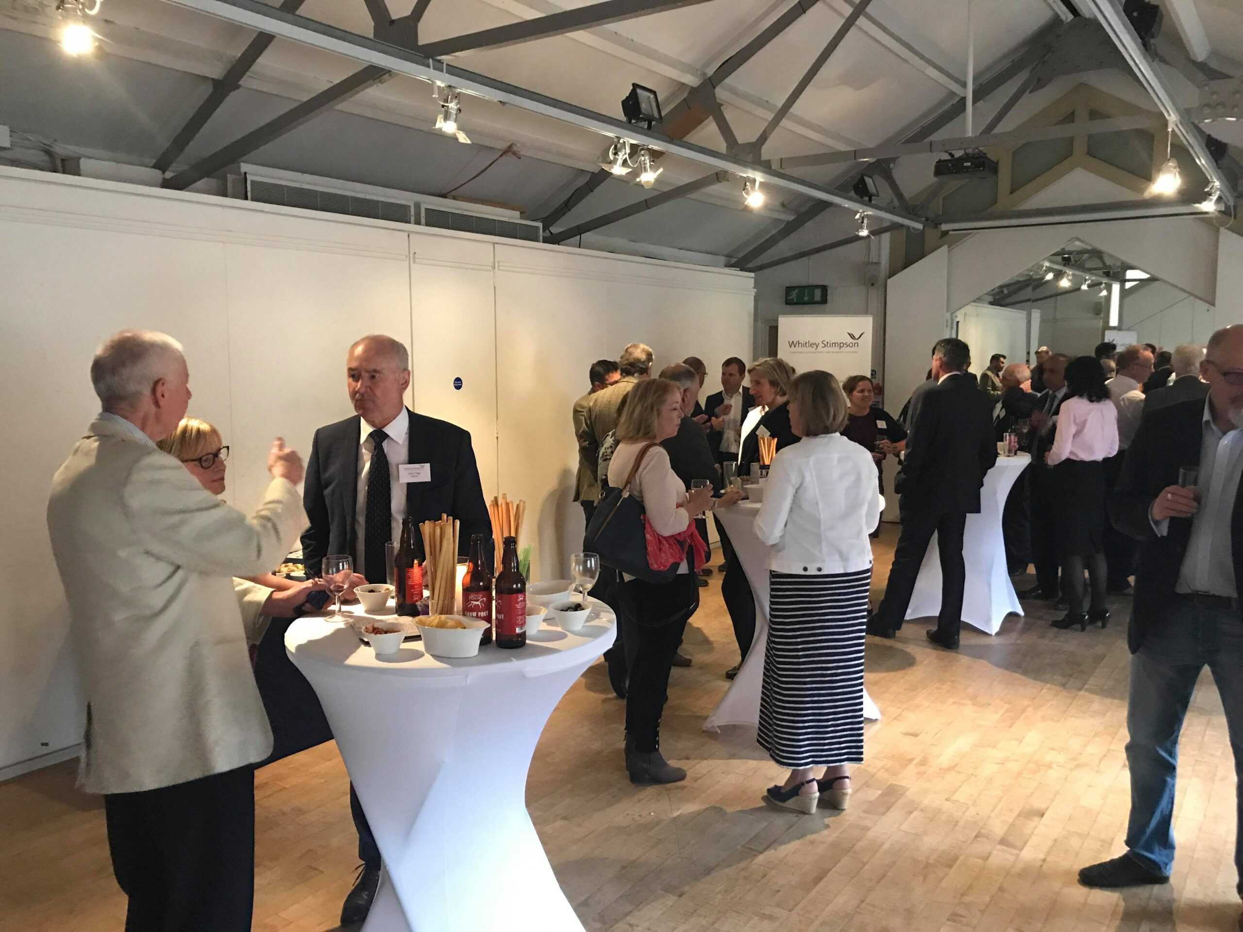 Whitley Stimpson hosts Oxford networking event