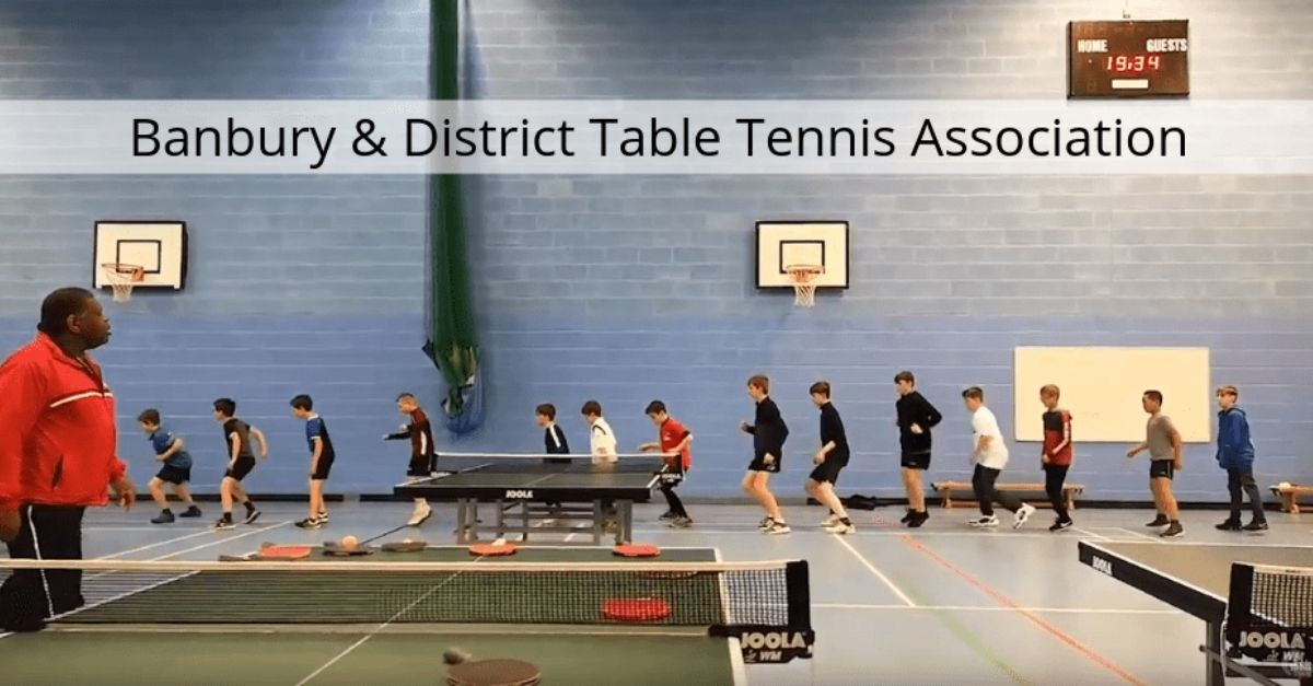 Whitley Stimpson sponsors Banbury & District Table Tennis Association (B&D TTA)