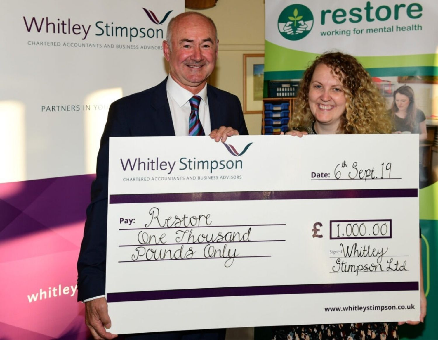 Charity golf day raises funds for local mental health charity