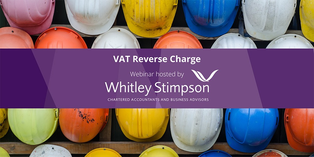 Whitley Stimpson host webinar on new VAT rules affecting the construction industry