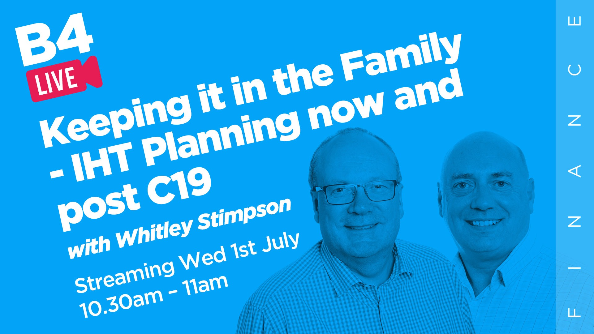 Keeping it in the Family - IHT Planning now and post C19 video chat