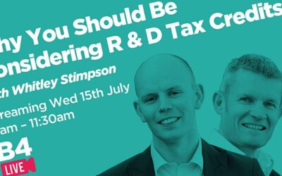 Why you should be considering R&D Tax Credits video chat