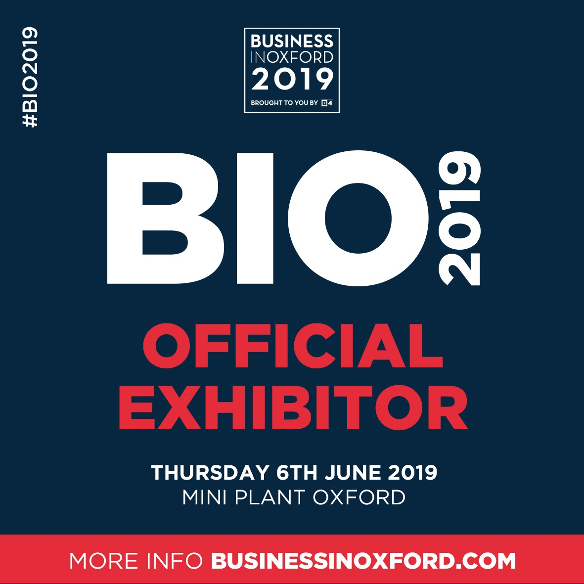 Whitley Stimpson to appear at Business In Oxford 2019