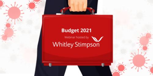 Webinar – Budget 2021