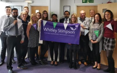 Whitley Stimpson in High Wycombe raises over £550 for Macmillan Cancer Support