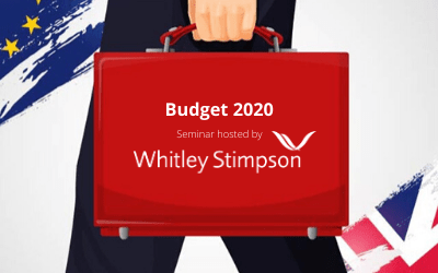 Budget 2020 Lunchtime Seminar – Thursday 12th March – Near High Wycombe