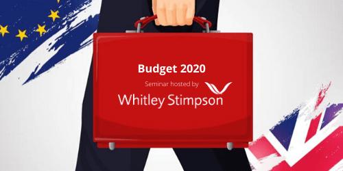 Budget 2020 Lunchtime Seminar - Thursday 12th March - Near High Wycombe