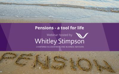 Webinar – Pensions: A Tool for Life