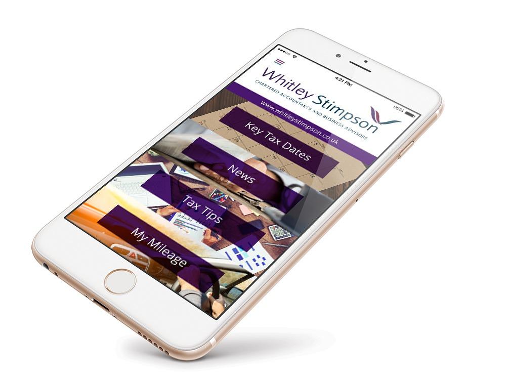 Whitley Stimpson mobile app