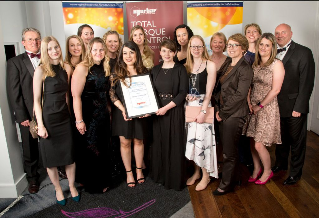 Whitley Stimpson wins two awards at the Cherwell Business Awards 2018