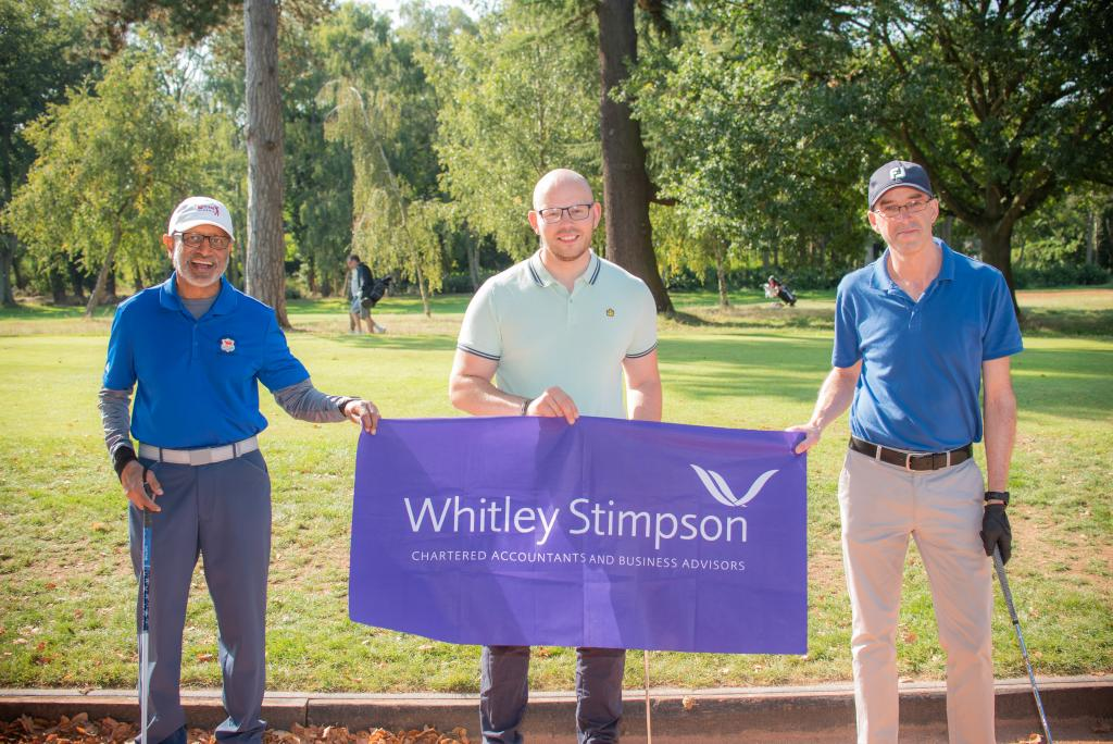 Whitley Stimpson Golf Day raising money for restore - Ian Parker