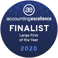 Accounting Excellence Awards 2020 Finalist
