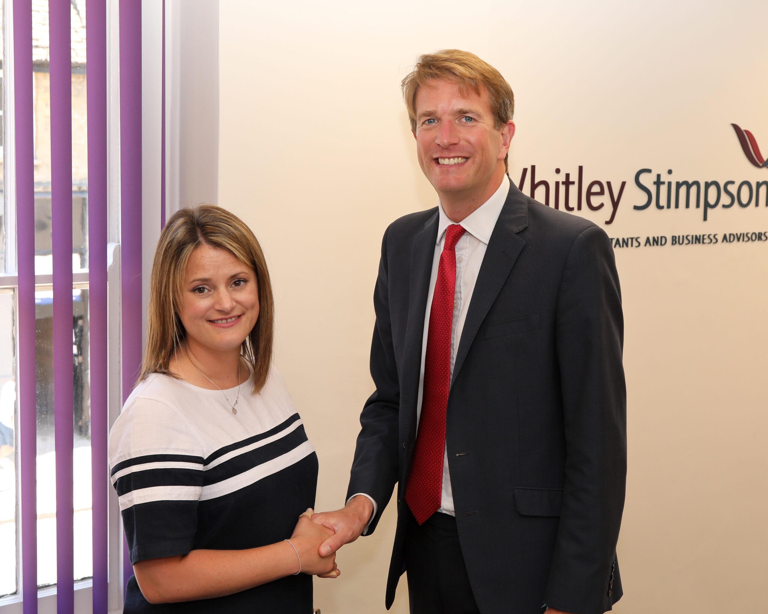 Whitley Stimpson welcomes Nigel Benton
