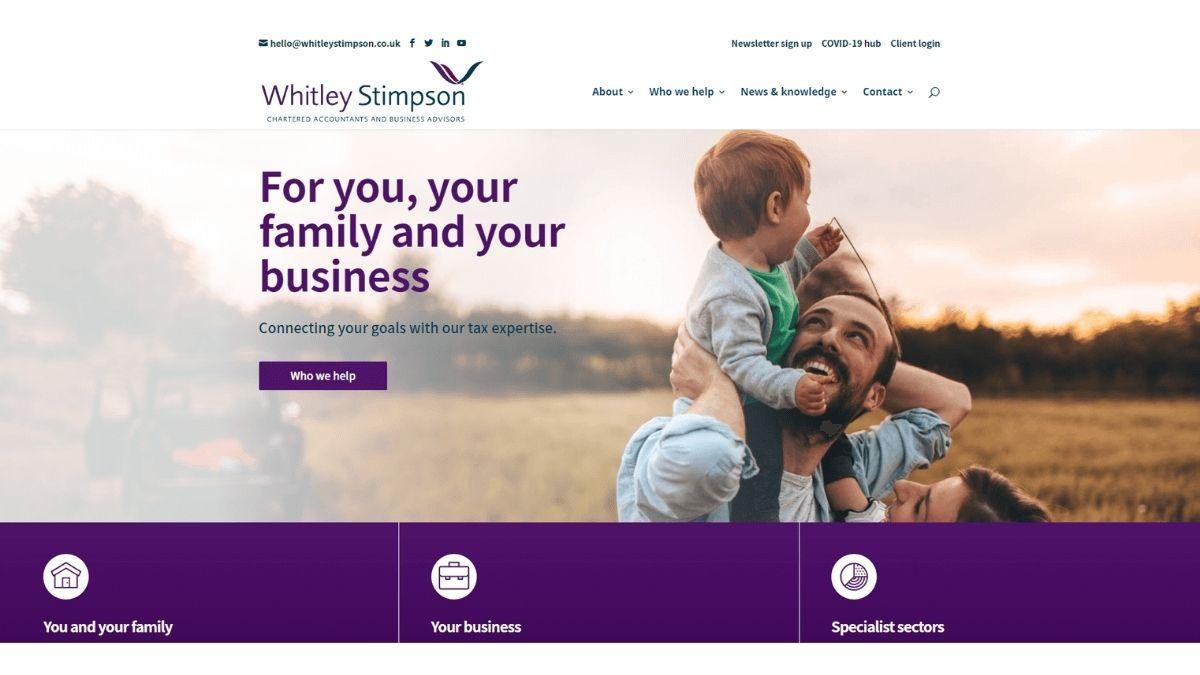Whitley Stimpson new website