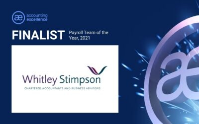 Whitley Stimpson shortlisted for Payroll Team of the Year Award