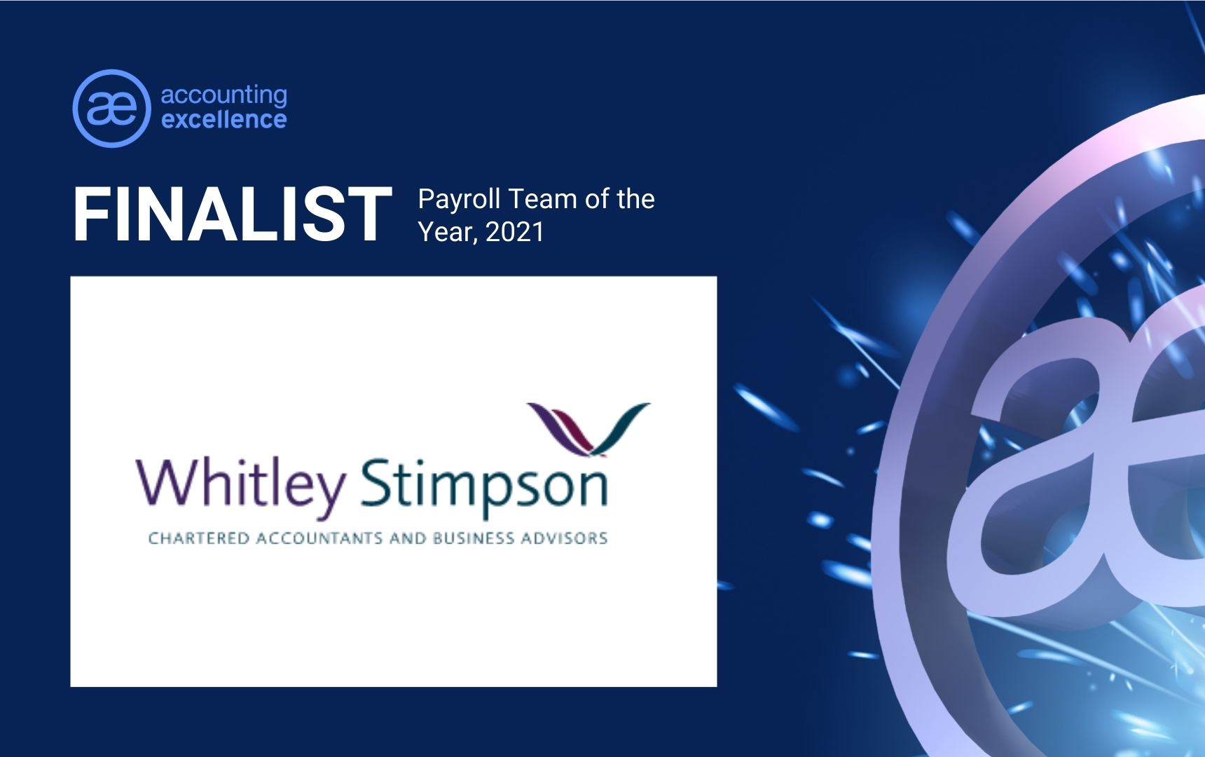 Payroll Team of the Year Finalist