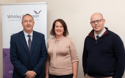 Local MP visits Whitley Stimpson during its 90 years in business