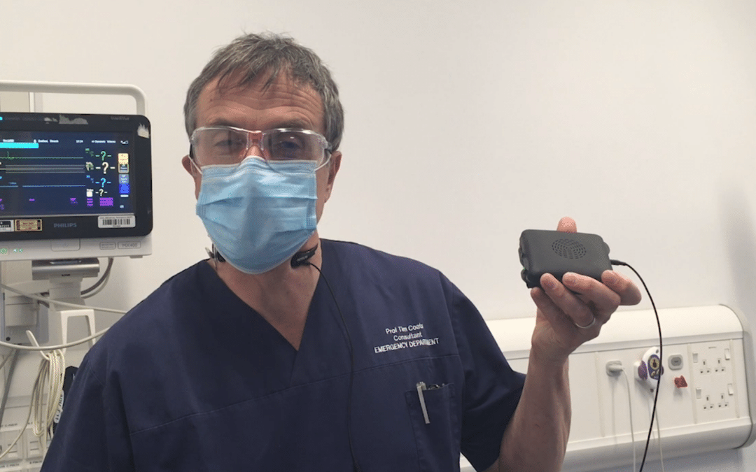 Whitley Stimpson provides expertise to produce PPE communications kit for medics